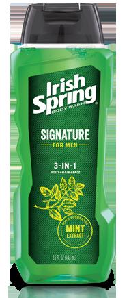Irish SpringSignature for Men 3-in-1 Body Wash