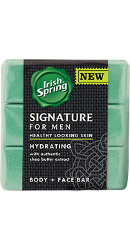 Irish Spring Signature for Men Hydrating Bar Soap