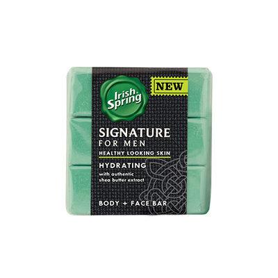 Irish Spring Signature for Men Hydrating Bar Soap
