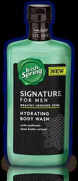 Irish Spring Signature for Men Hydrating Body Wash
