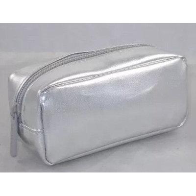 bareMinerals Silver Rectangular Zippered Make-up Bag