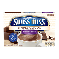 Swiss Miss Simply Cocoa Dark Chocolate Hot Cocoa Mix