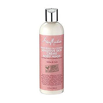 SheaMoisture Peace Rose Oil Complex Sensitive Créme Body Wash