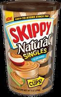 SKIPPY® Singles Natural Peanut Butter Spread