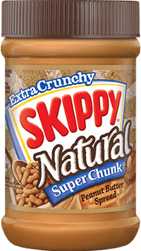SKIPPY® Natural SUPER CHUNK® Peanut Butter Spread