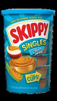 SKIPPY® Singles Creamy Peanut Butter