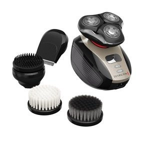 Remington XR1410 Verso Wet & Dry Men's Shaver & Trimmer, Men's Electric Razor, Electric Shaver, Facial Cleaning Brush