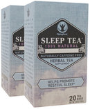Piping Rock Sleep Tea (Bedtime) 2 Boxes x 20 Tea Bags