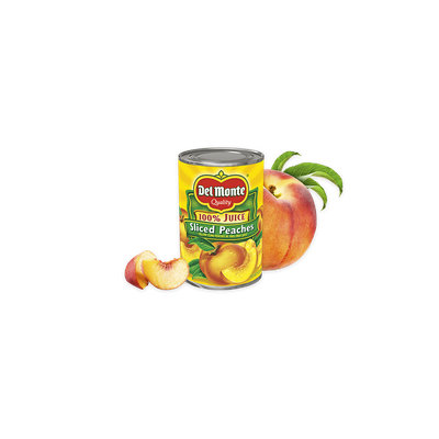 Del Monte® Sliced Yellow Cling Peaches in 100% Juice