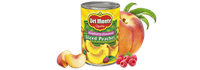 Del Monte® Sliced Yellow Cling Peaches in Raspberry Flavored Light Syrup