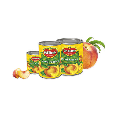 Del Monte® California Sliced Yellow Cling Peaches in Heavy Syrup