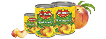 Del Monte® Sliced Yellow Cling Peaches