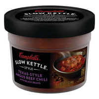 Campbell's® Slow Kettle® Style Texas-Style Angus Beef Chili with Black Beans