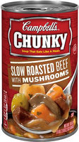 Campbell's® Chunky Slow Roasted Beef with Mushrooms Soup