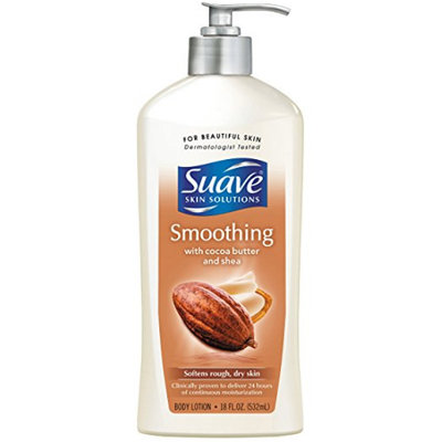 Suave® Smoothing with Cocoa Butter & Shea Body Lotion