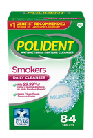 Polident® Smokers Denture Cleanser