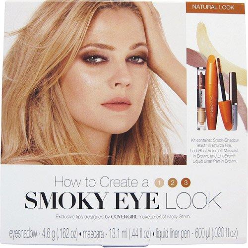 COVERGIRL Lash Blast Mascara Kit Masc Liner Shadow Smokey Eye Kit Bold Look