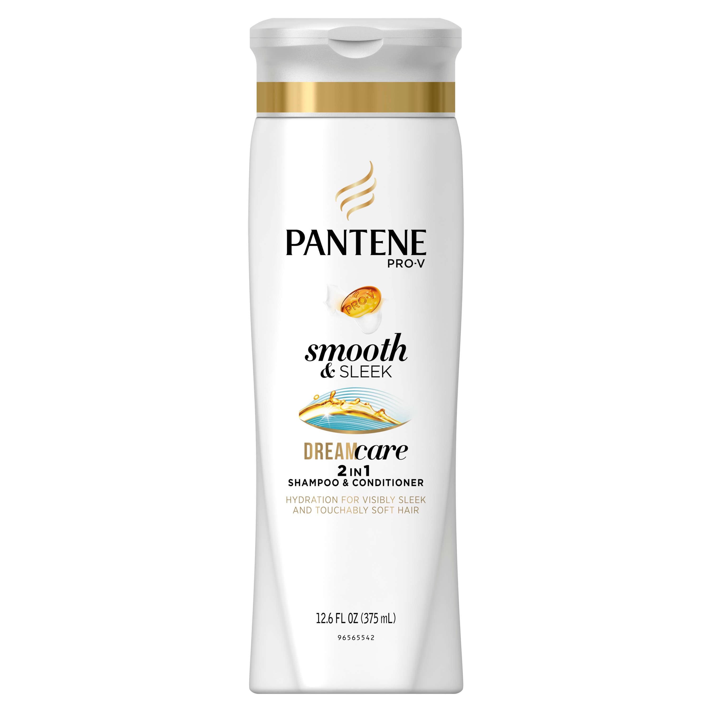 Pantene Pro-V Smooth & Sleek 2 in 1 Shampoo & Conditioner