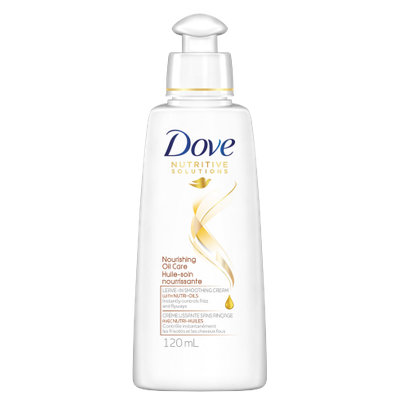Dove Nourishing Oil Care Damage Therapy Leave-In Smoothing Cream