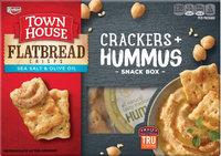 Keebler Town House Flatbread Crisps Crackers Hummus Variety Pack
