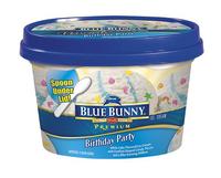 Blue Bunny Premium Birthday Party Ice Cream