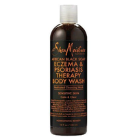 SheaMoisture African Black Soap Eczema Psoriasis Therapy Body Wash