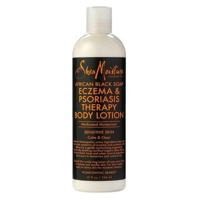 SheaMoisture African Black Soap Eczema Psoriasis Therapy Body Lotion