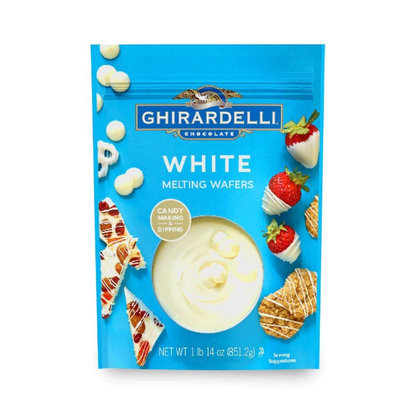 Ghirardelli, Candy Making & Dipping, White Melting Wafers