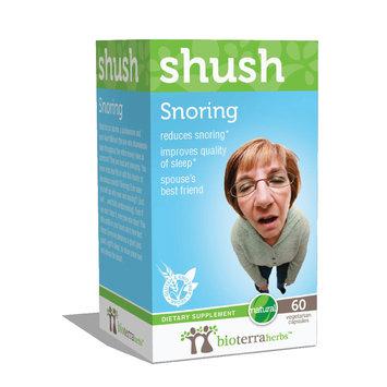 BioTerra Herbs - Shush Snoring - 60 Vegetarian Capsules