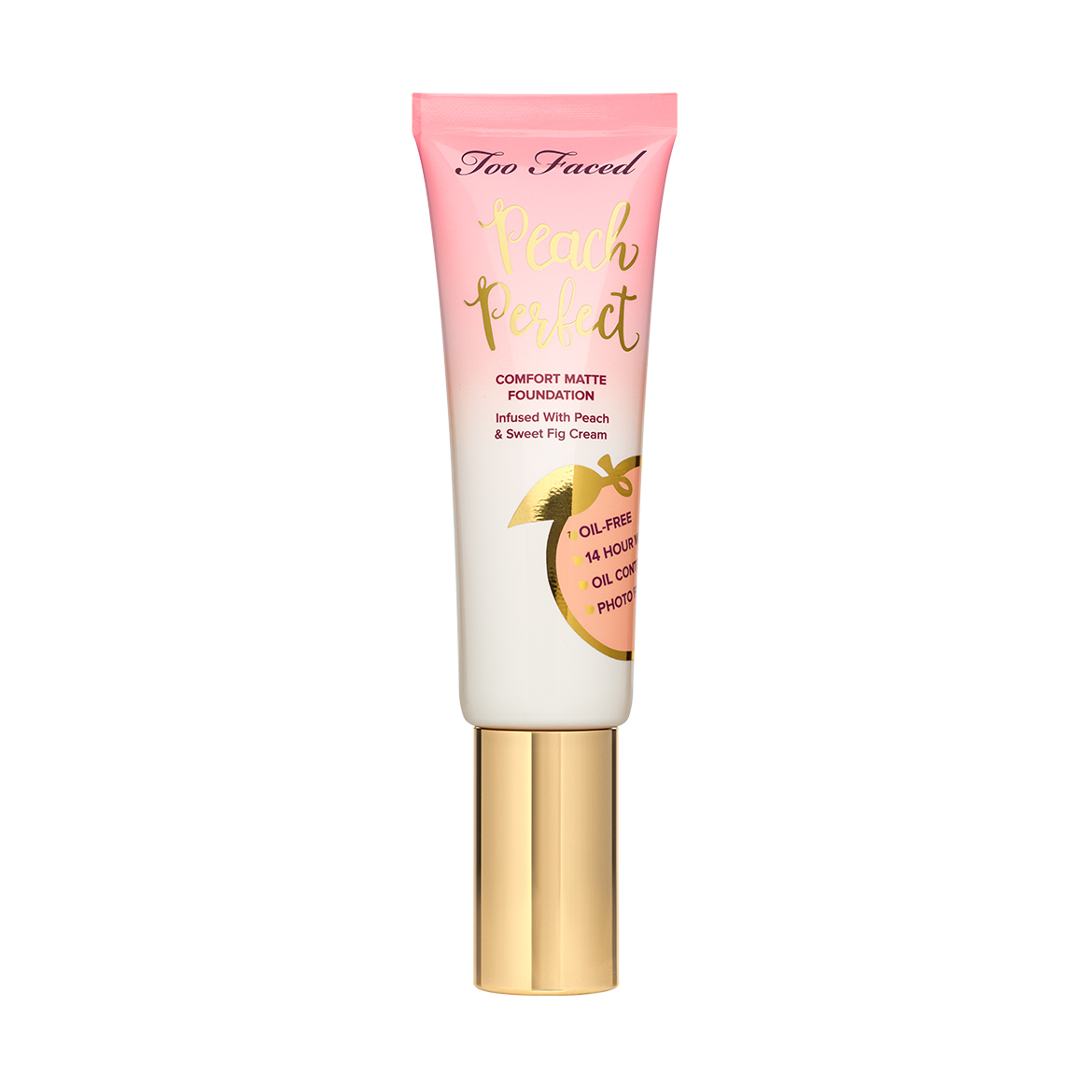 Too Faced Peach Perfect Comfort Matte Foundation - Peaches and Cream Collection