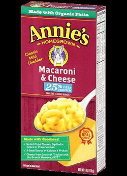 Annie's® Homegrown Lower Sodium Mac & Cheese