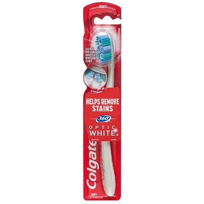 Colgate® 360°® OPTIC WHITE™ Toothbrush Soft