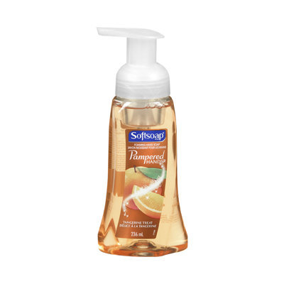 Softsoap Pampered Hands Foaming Hand Soap, Tangerine Treat