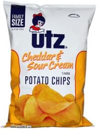 Utz Cheddar & Sour Cream Potato Chips