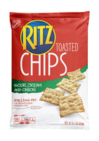 Nabisco RITZ Sour Cream & Onion Toasted Chips