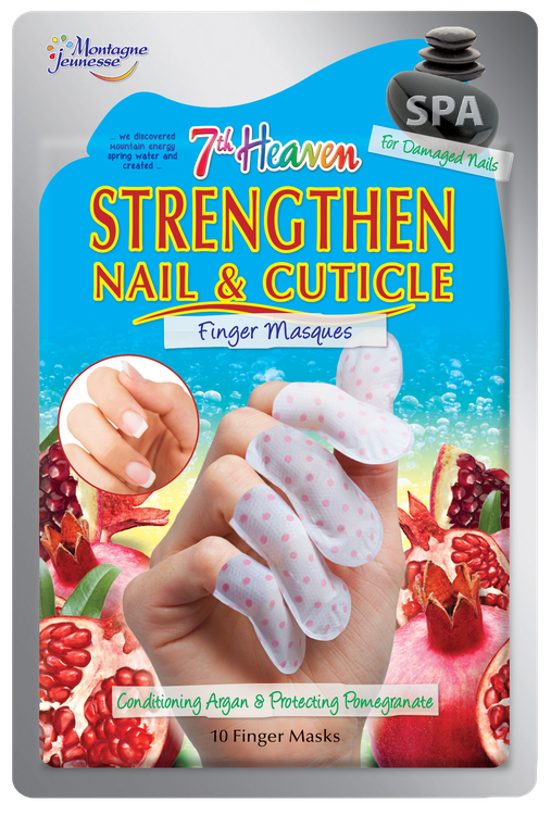 7th Heaven Strengthen Nail & Cuticle Finger Masques Reviews