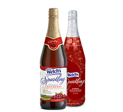 Welch's® Cranberry Sparkling Cocktail