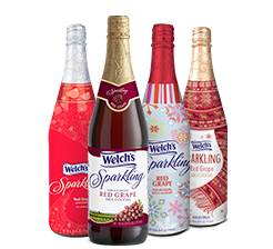 Welch's® Red Grape Sparkling Cocktail