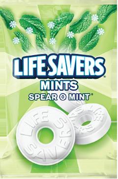 Lifesavers Spear O Mint Mints
