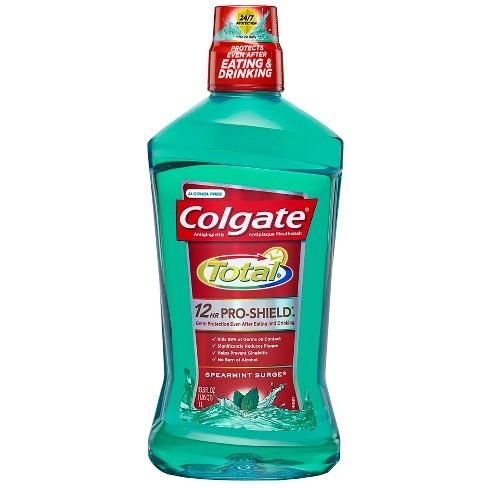 Colgate® Total® ADVANCED PRO-SHIELD SPEARMINT SURGE® MOUTHWASH