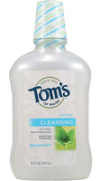 Tom's OF MAINE Cleansing Mouthwash Spearmint