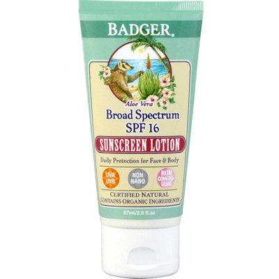 BADGER® Broad Spectrum Sunscreen Lotion SPF 16