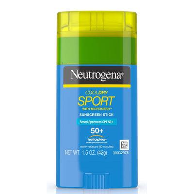 Neutrogena® CoolDry Sport Sunscreen Stick Broad Spectrum SPF 50+