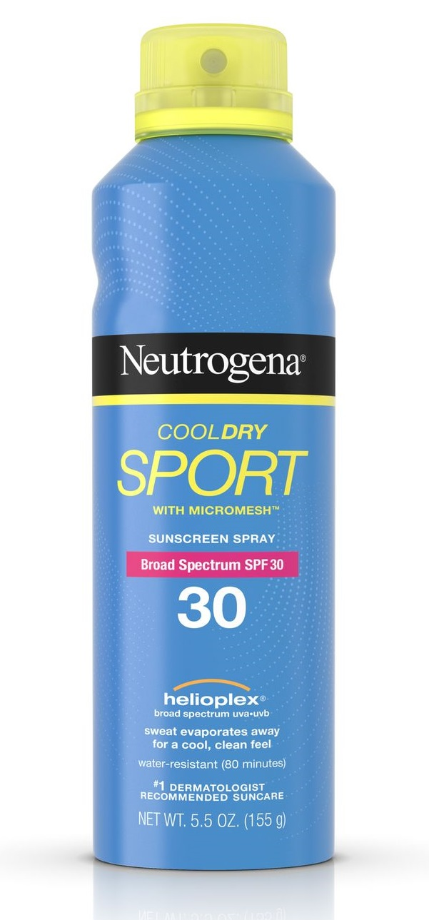 Neutrogena® CoolDry Sport Sunscreen Spray Broad Spectrum SPF 30