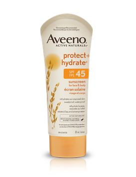 Aveeno® Active Naturals Protect + Hydrate SPF 45 Sunscreen