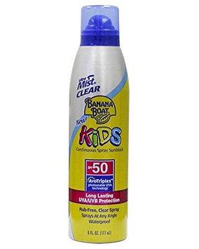 Banana Boat Kids Free Clear Mist Sunscreen Spray With SPF 50