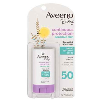 Aveeno® Baby Natural Protection Face Stick For Sensitive Skin, Spf 50