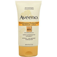 Aveeno® continuous Protection Sunblock Lotion SPF 85