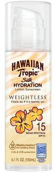 Hawaiian Tropic® Silk Hydration Weightless SPF 15 Sunscreen Lotion