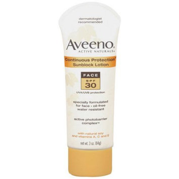 Aveeno® Active Naturals Continuous Protection Sunblock Lotion SPF 30